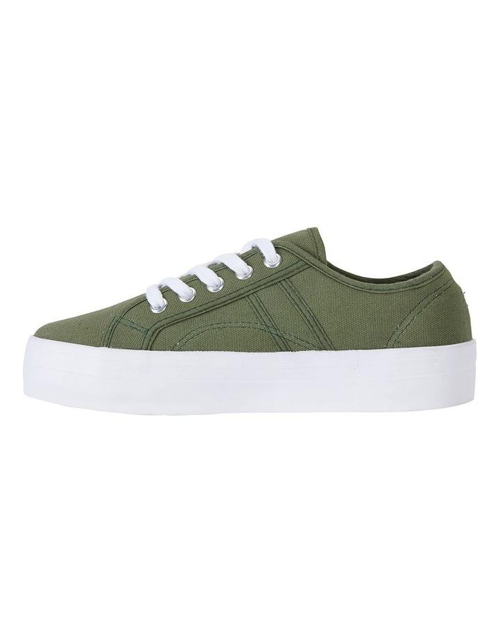 Scott Khaki Canvas Sneakers image 3