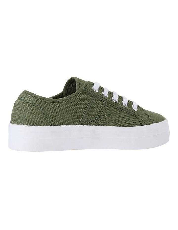 Scott Khaki Canvas Sneakers image 4