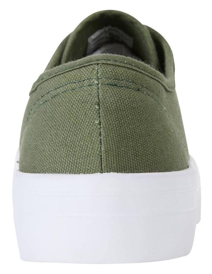 Scott Khaki Canvas Sneakers image 7