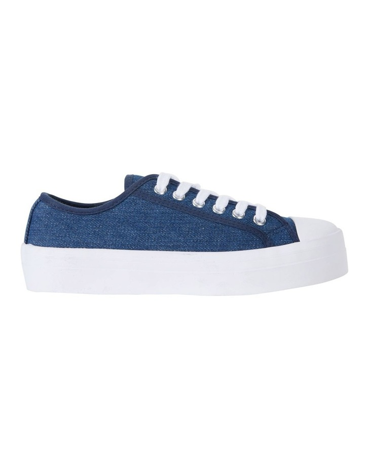 Stacey Denim Canvas Sneakers image 1