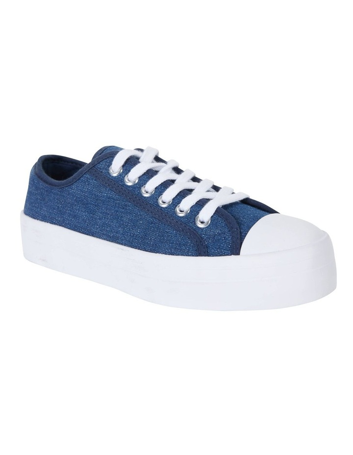Stacey Denim Canvas Sneakers image 2