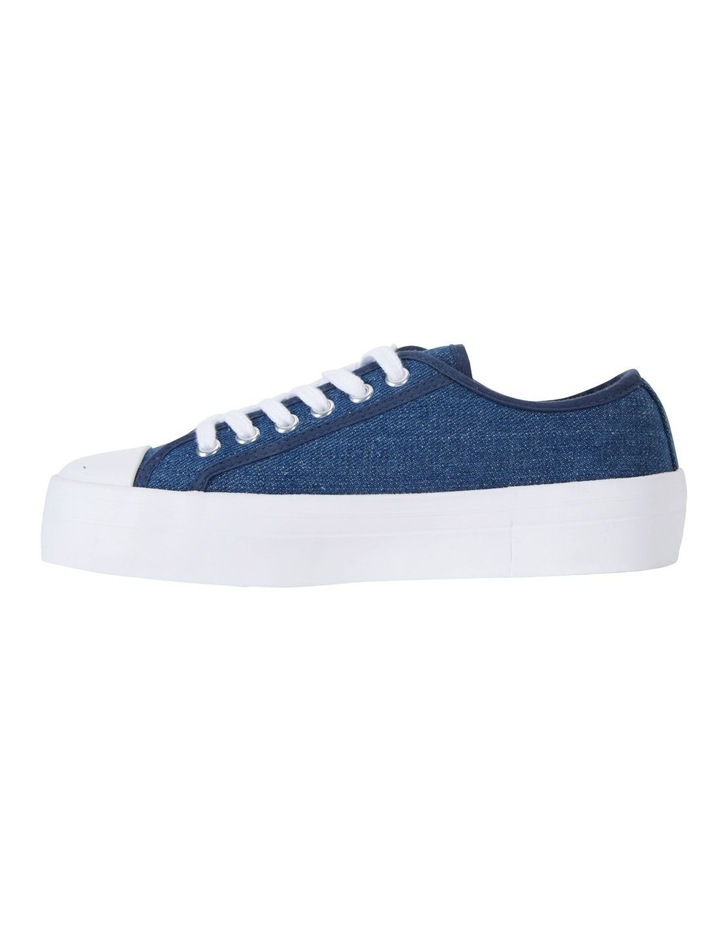 Stacey Denim Canvas Sneakers image 3