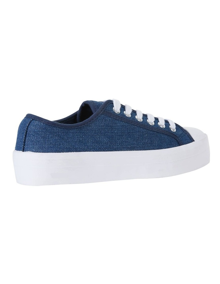 Stacey Denim Canvas Sneakers image 4