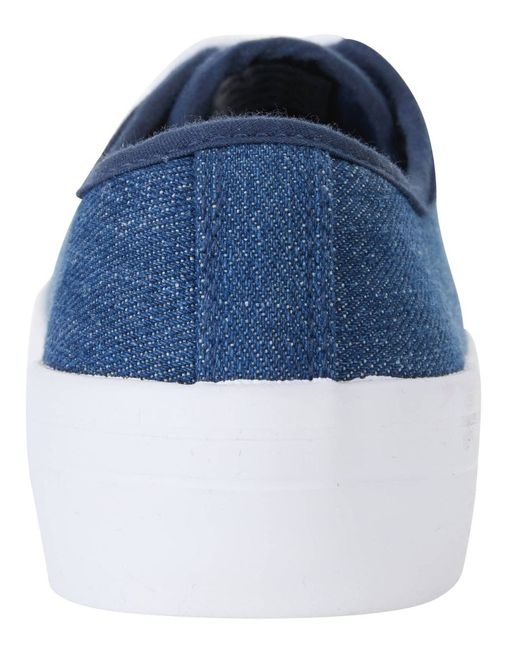 Stacey Denim Canvas Sneakers image 5