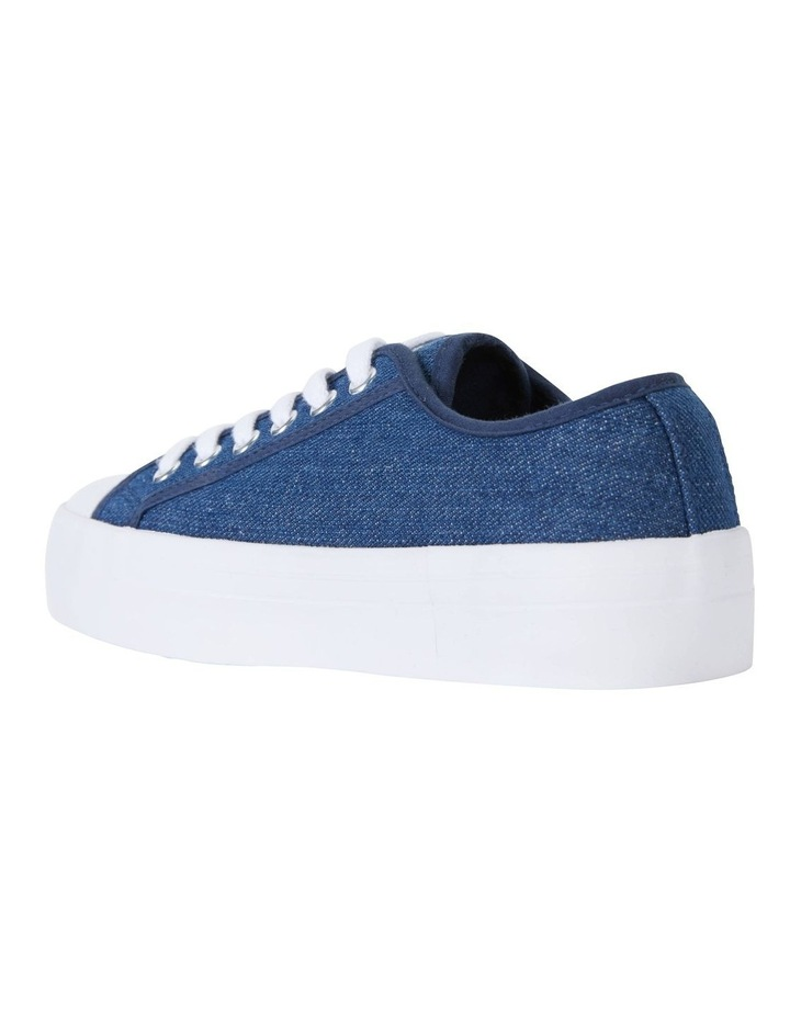 Stacey Denim Canvas Sneakers image 7