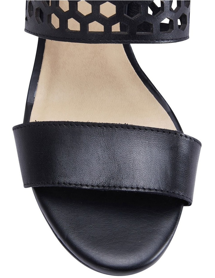 Benson Black Glove Sandals image 4