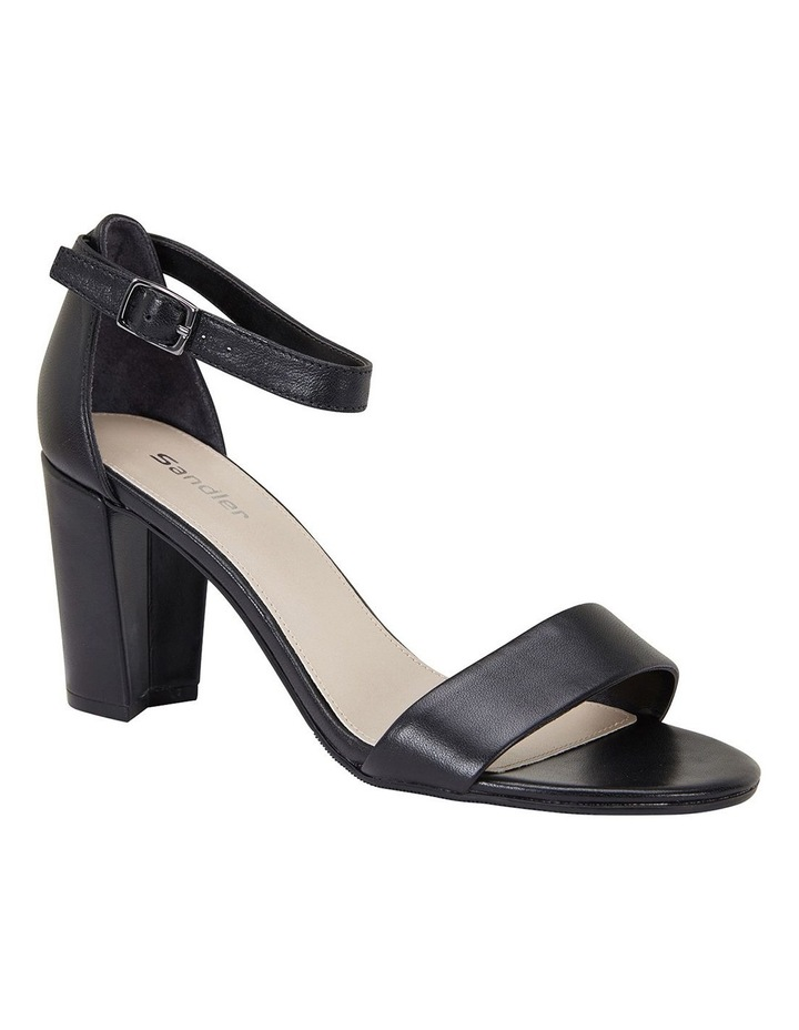 Jessica Black Glove Sandals image 1