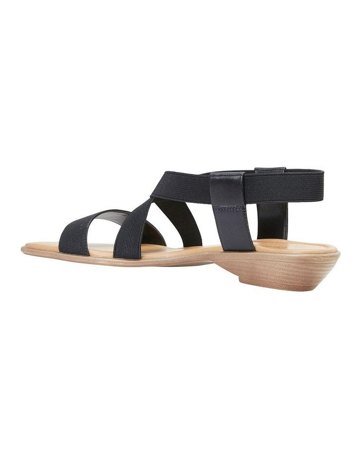 Saratoga Black Elastic Sandals image 4
