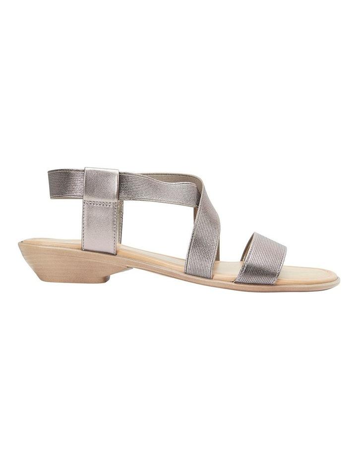 Saratoga Pewter Elastic Sandals image 1