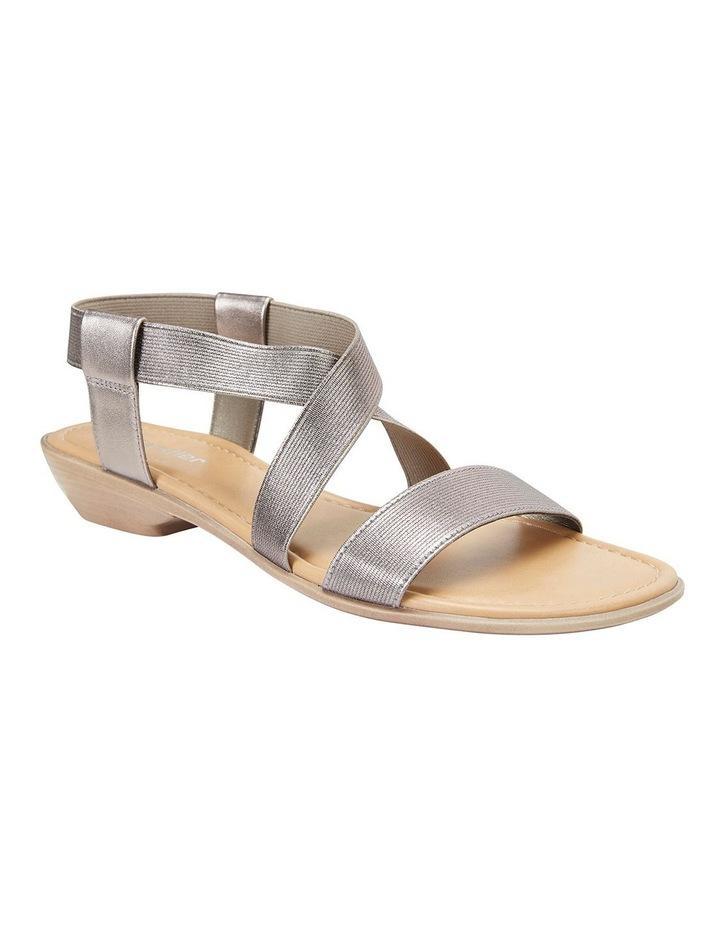 Saratoga Pewter Elastic Sandals image 2