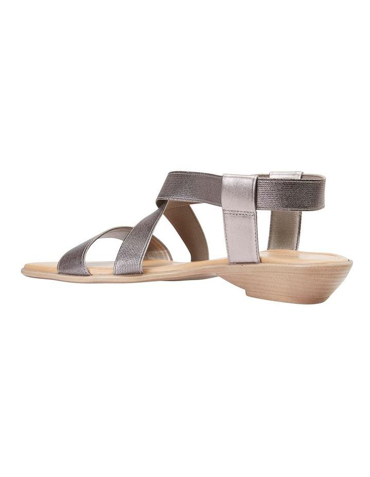 Saratoga Pewter Elastic Sandals image 3