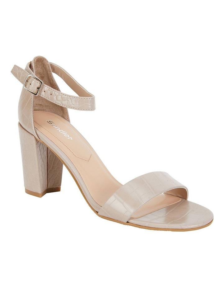 Juliet Nude Croc Sandals image 2