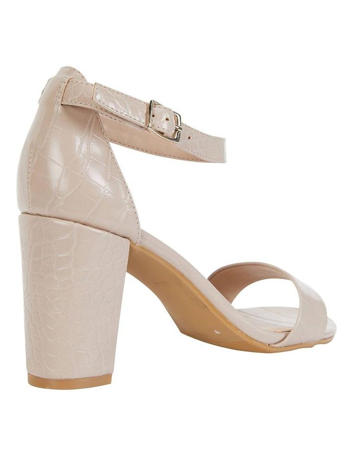 Juliet Nude Croc Sandals image 4