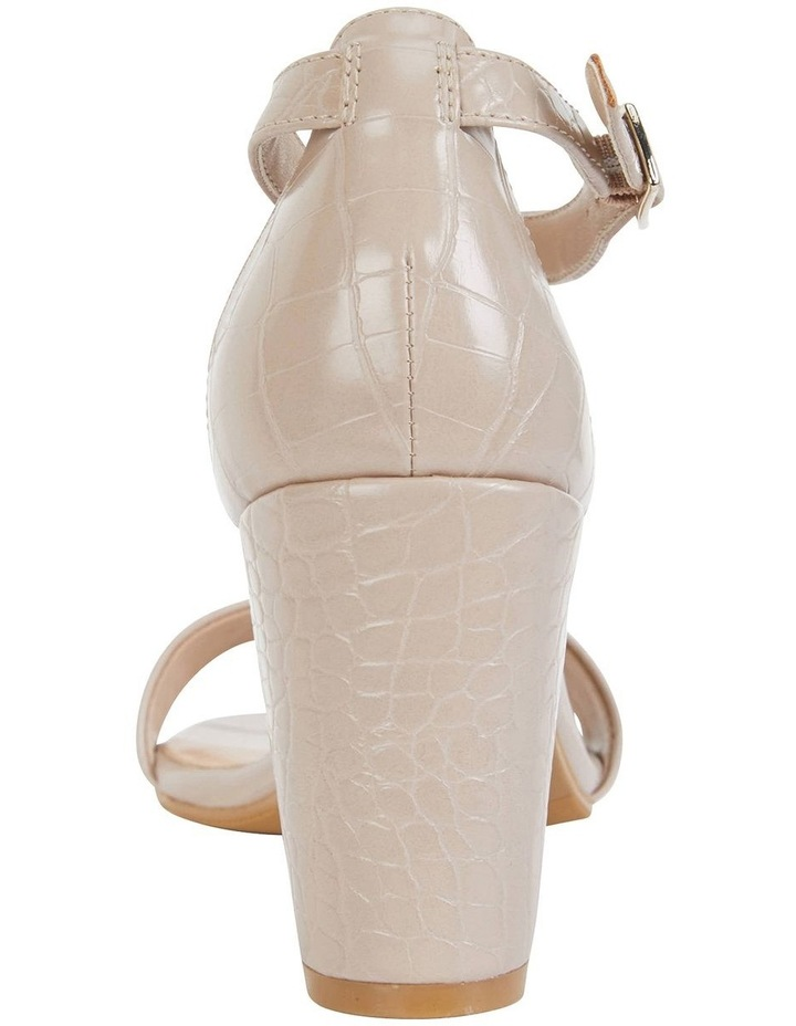 Juliet Nude Croc Sandals image 5