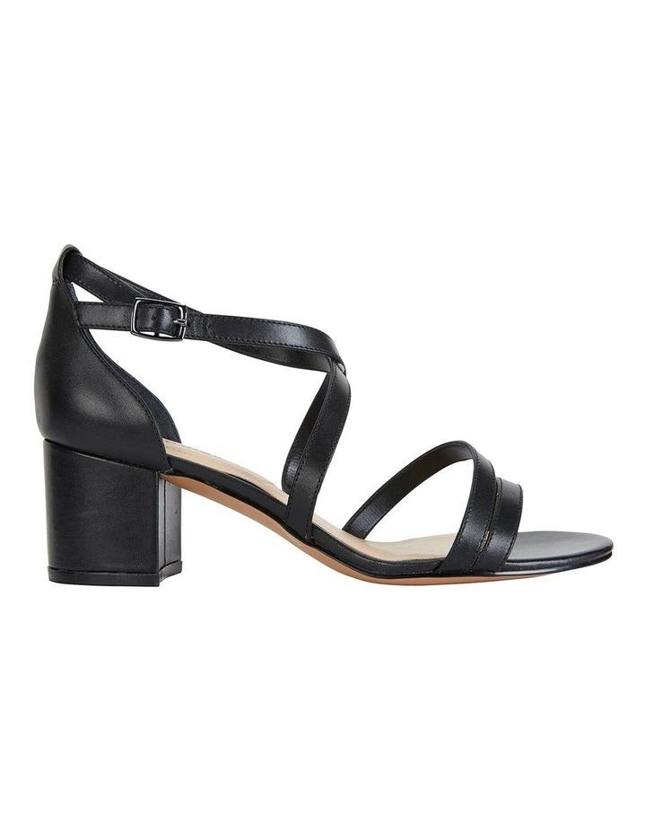 Andie Black Glove Sandals image 1