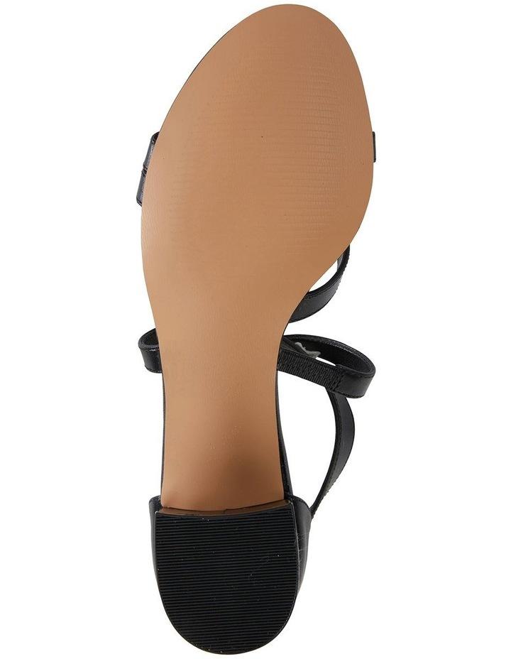 Andie Black Glove Sandals image 6