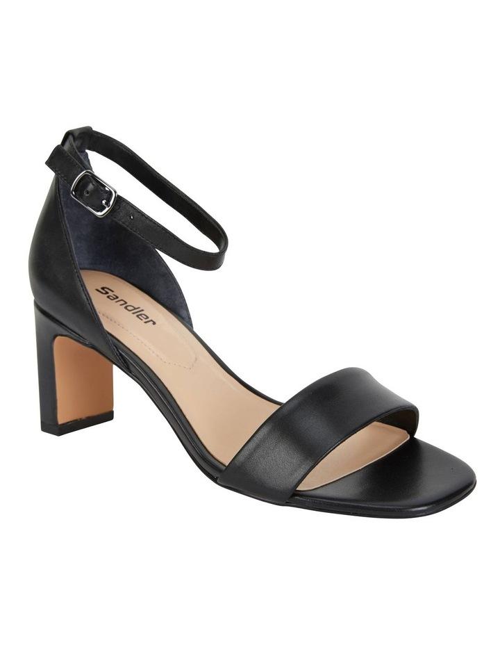 Harper Black Glove Sandals image 2