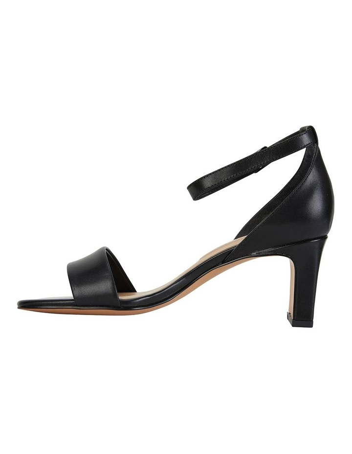 Harper Black Glove Sandals image 3