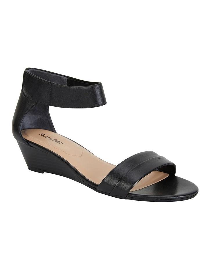 Quartz Black Glove Sandals image 2