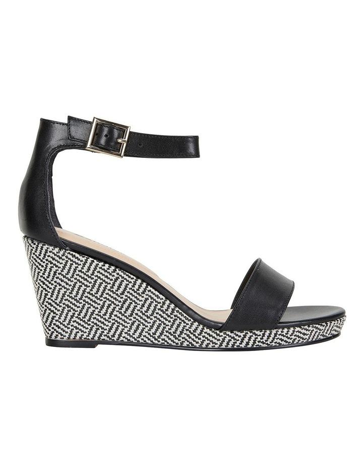 Claudia Black Glove Sandals image 1