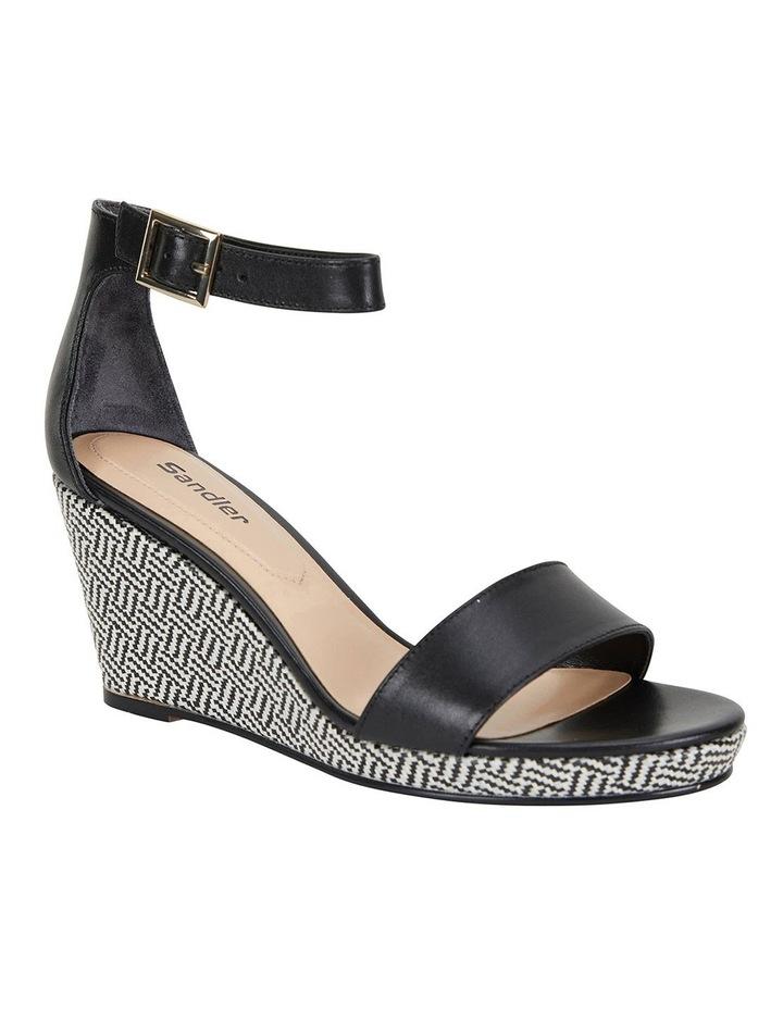 Claudia Black Glove Sandals image 2