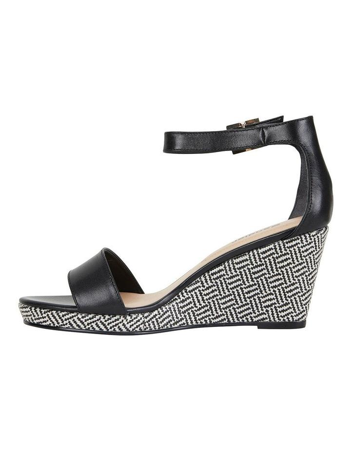 Claudia Black Glove Sandals image 3