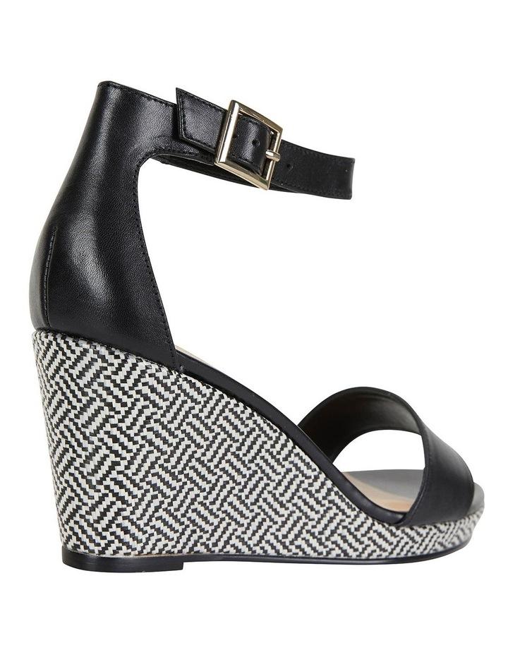 Claudia Black Glove Sandals image 4
