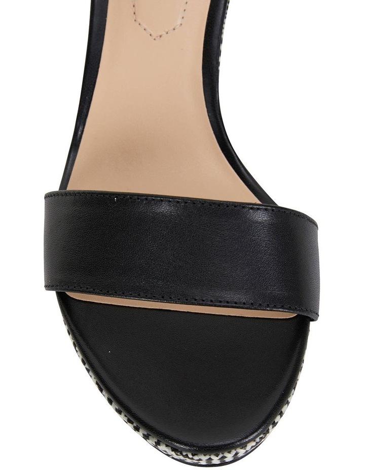Claudia Black Glove Sandals image 6