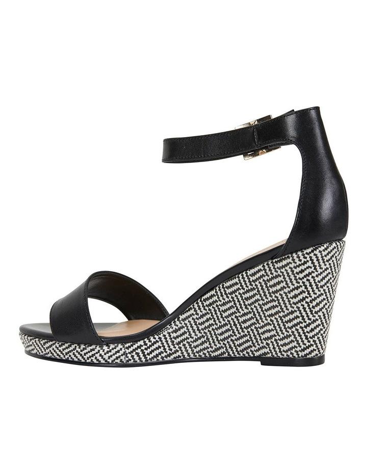 Claudia Black Glove Sandals image 7