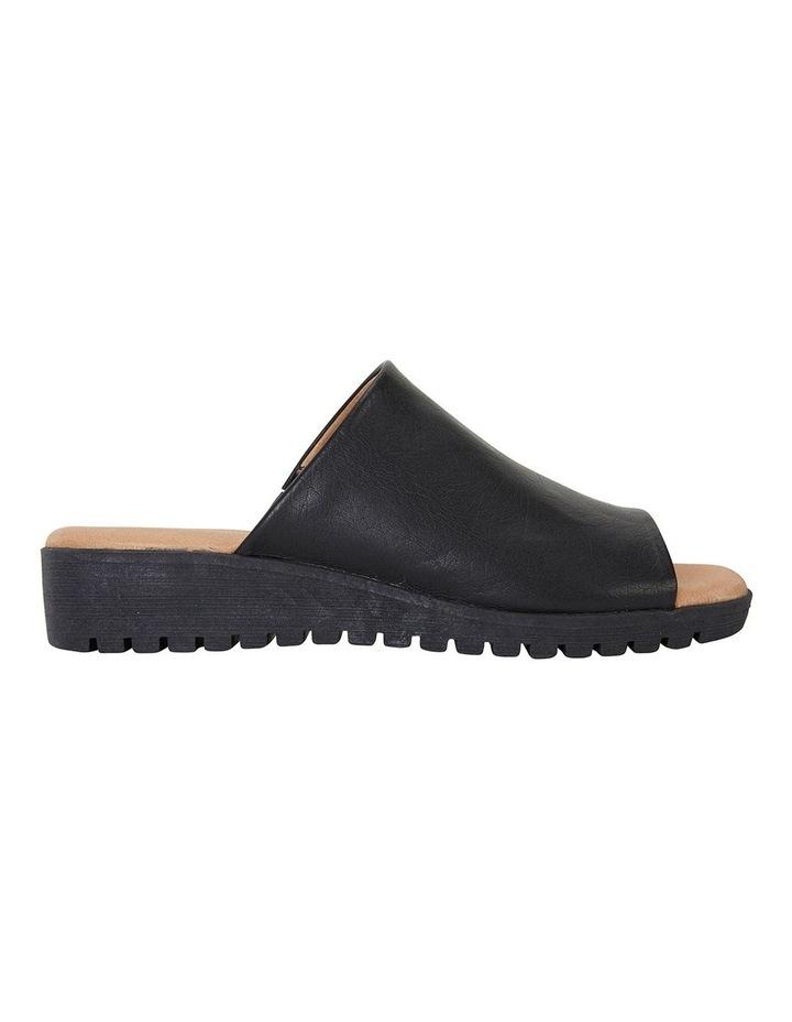 Fate Black/Black Glove Sandals image 1