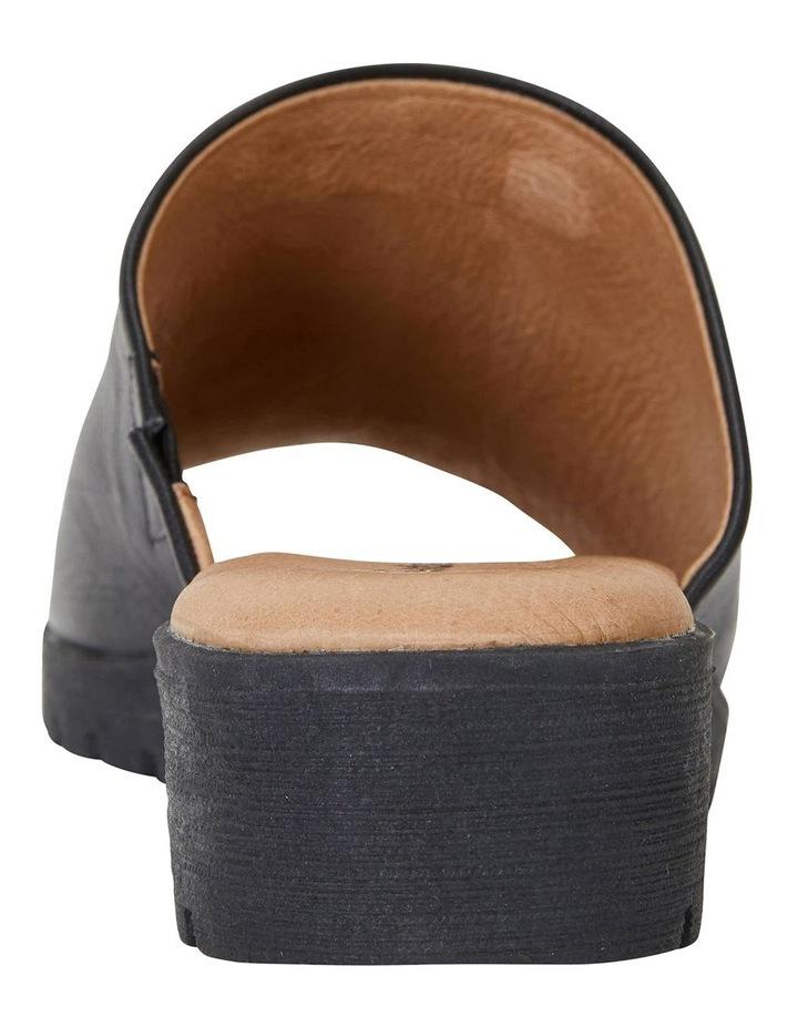 Fate Black/Black Glove Sandals image 5