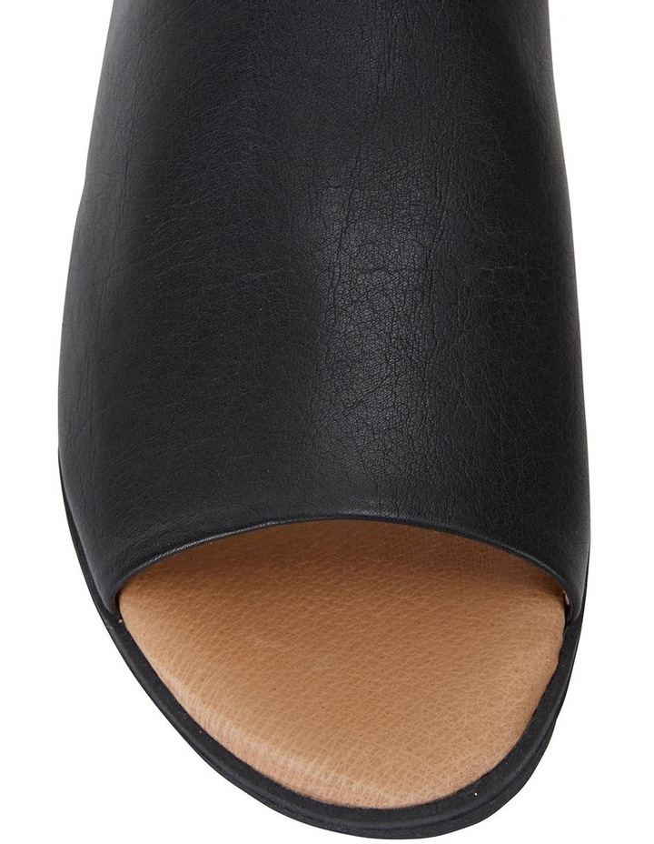 Fate Black/Black Glove Sandals image 6