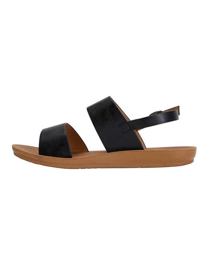 Ginger Black Smooth Sandals image 3