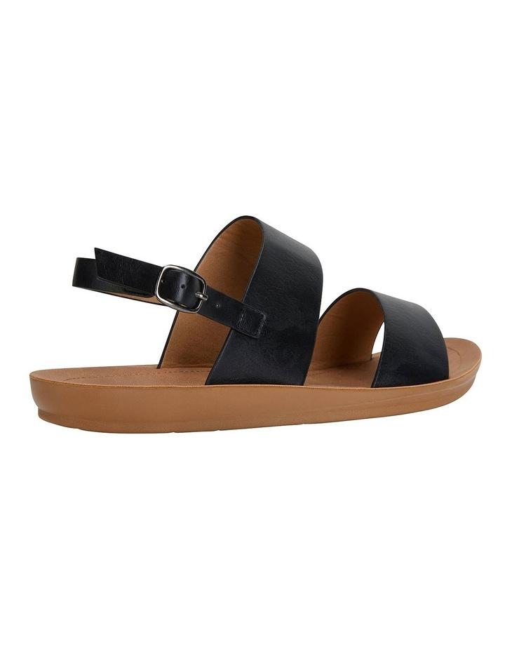 Ginger Black Smooth Sandals image 4