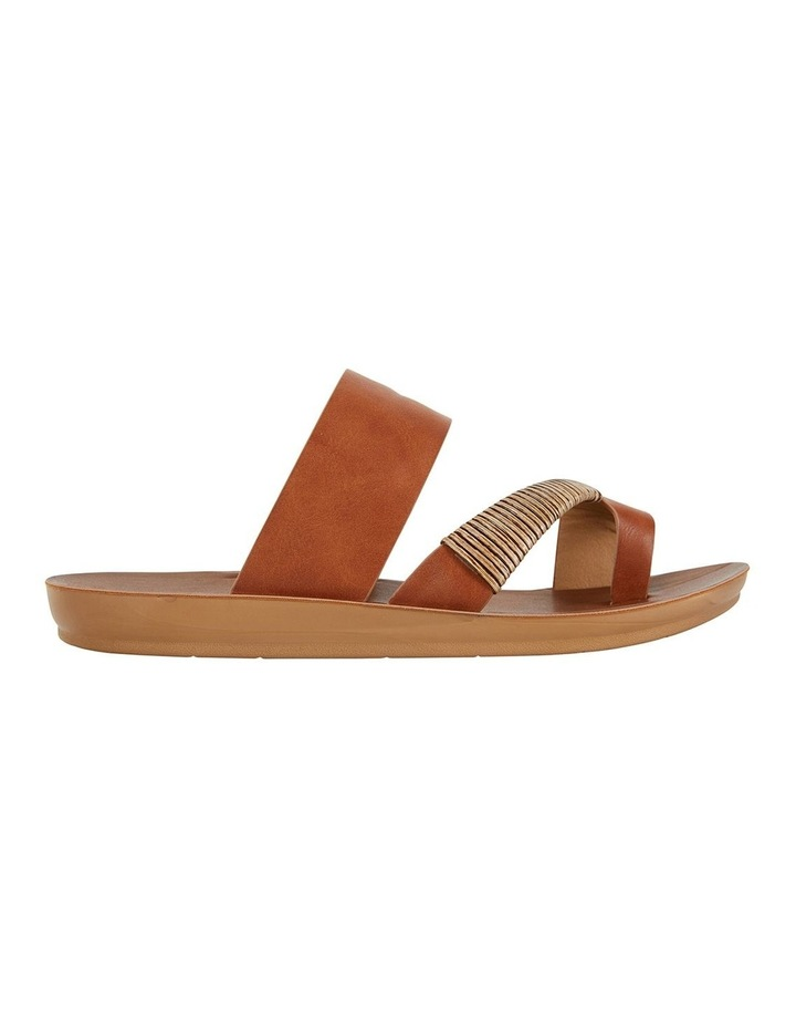 Gidget Tan Smooth Sandals image 1