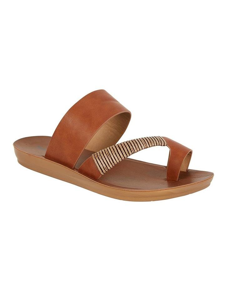 Gidget Tan Smooth Sandals image 2