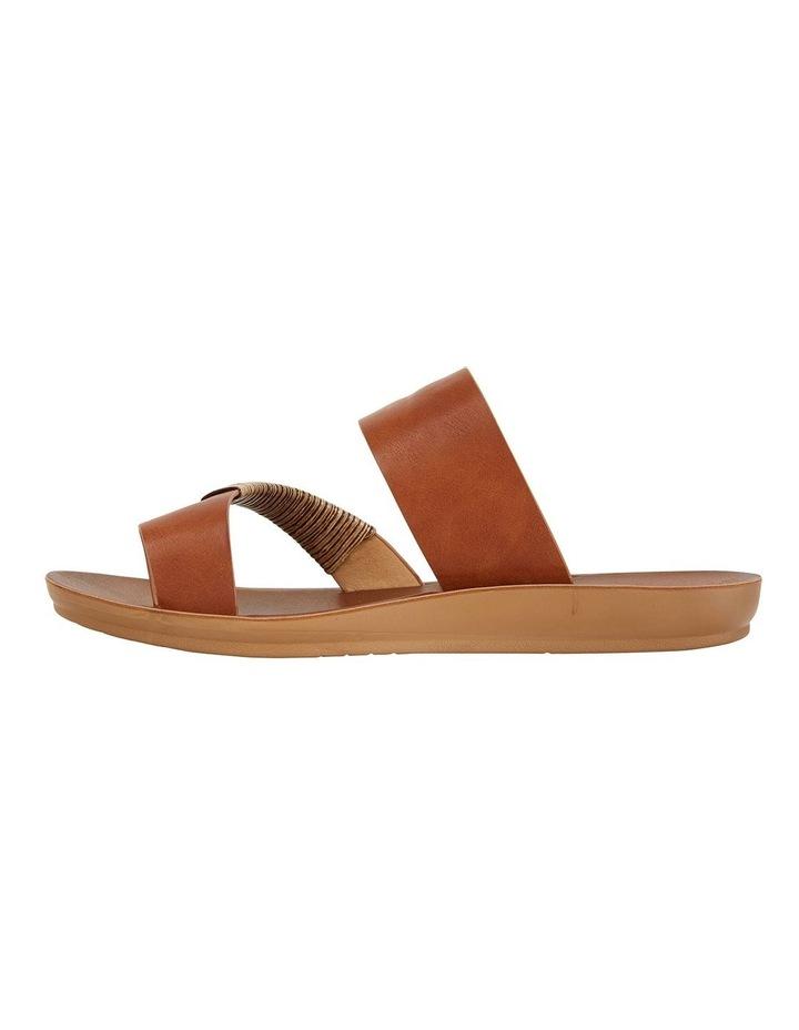Gidget Tan Smooth Sandals image 3