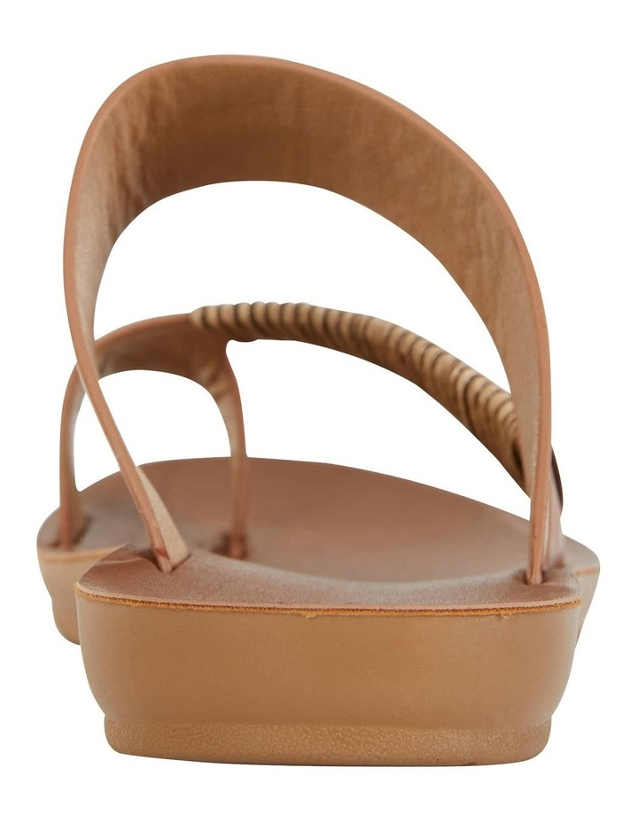 Gidget Tan Smooth Sandals image 5