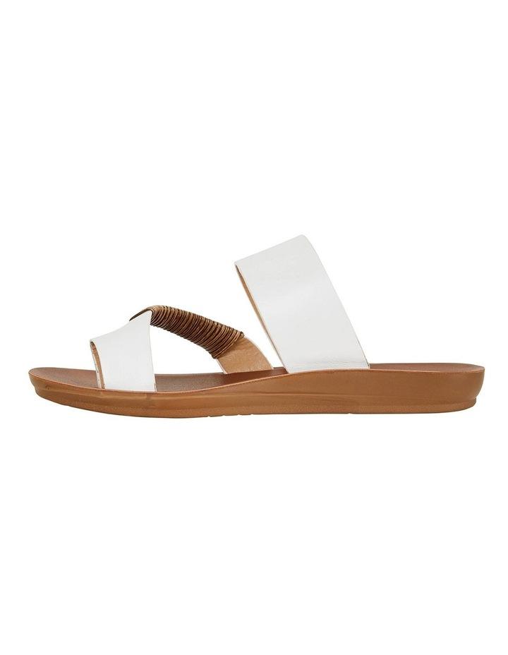 Gidget White Smooth Sandals image 3
