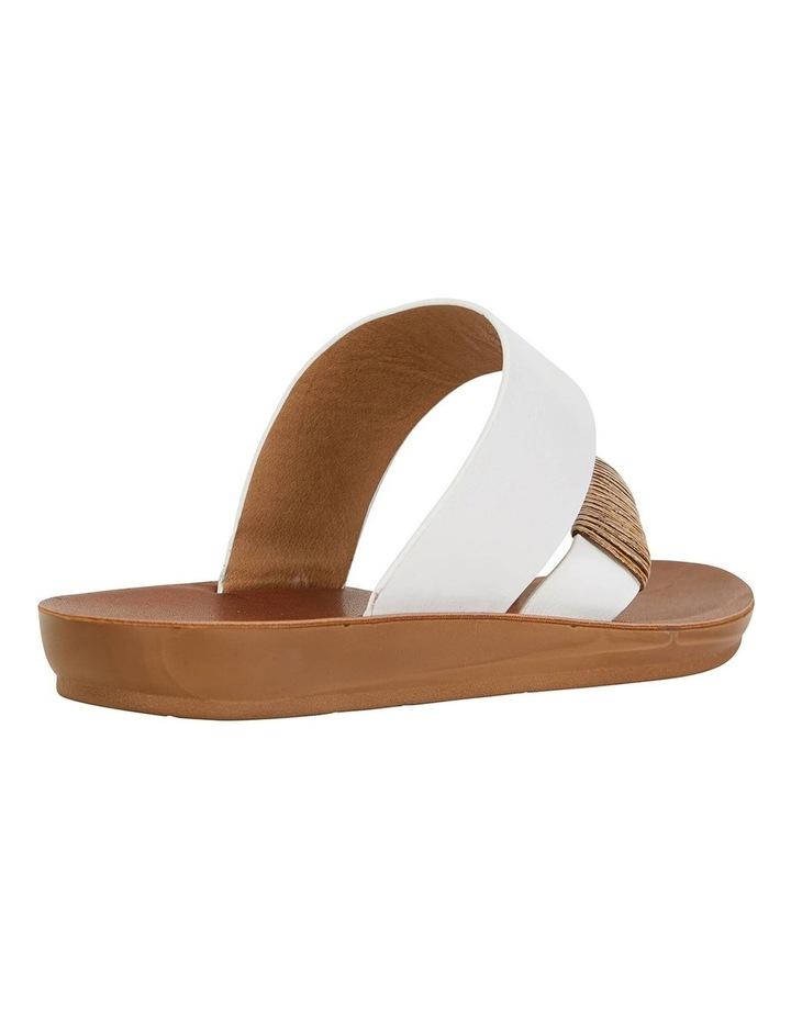 Gidget White Smooth Sandals image 4