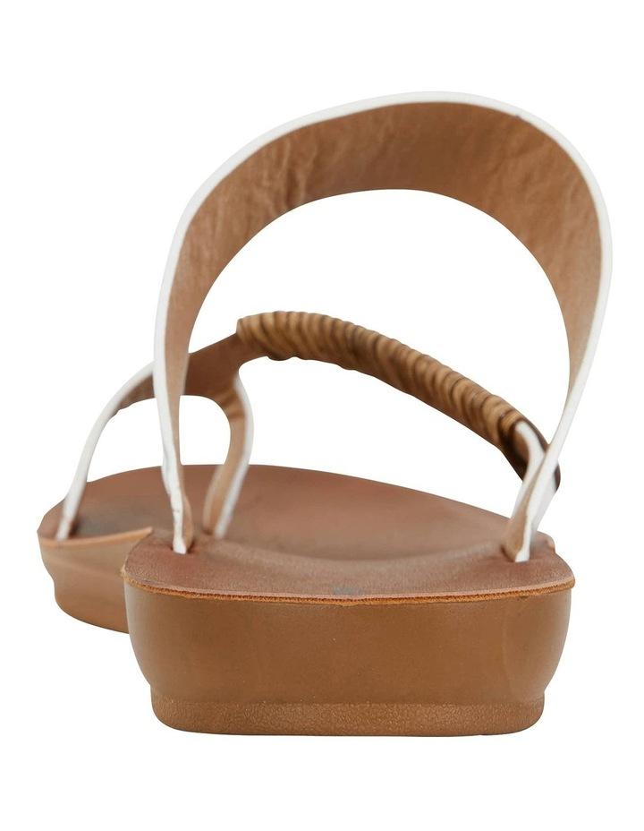 Gidget White Smooth Sandals image 5