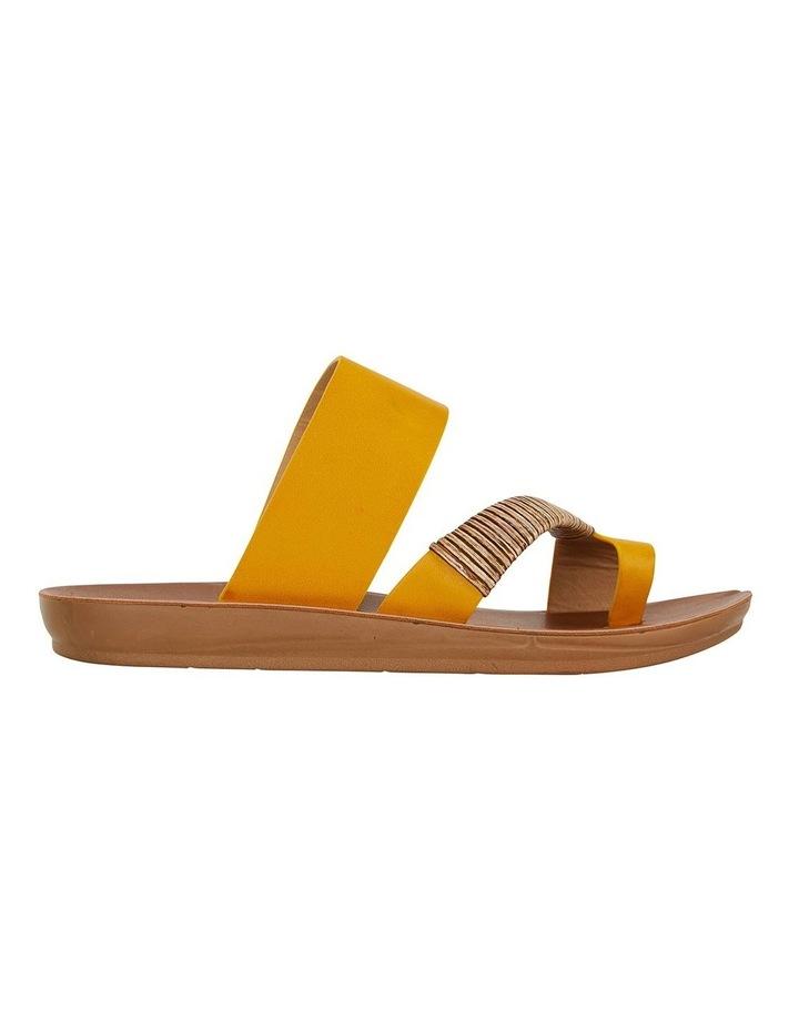 Gidget Mustard Smooth Sandals image 1