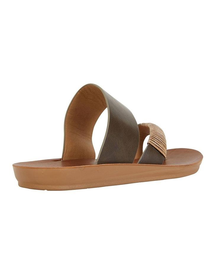 Gidget Khaki Smooth Sandals image 4