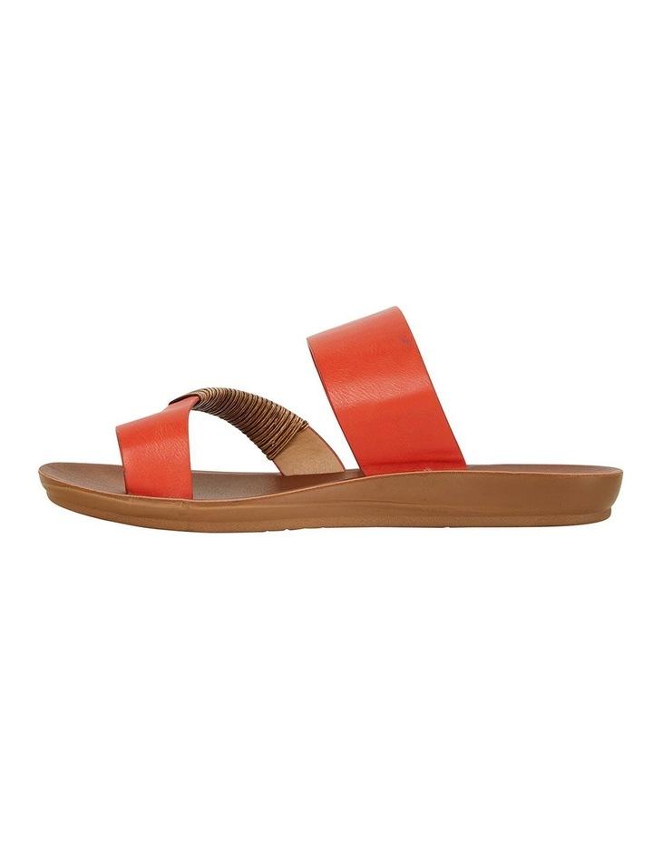 Gidget Tangerine Smooth Sandals image 2