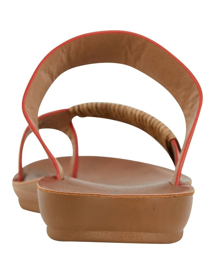 Gidget Tangerine Smooth Sandals image 4