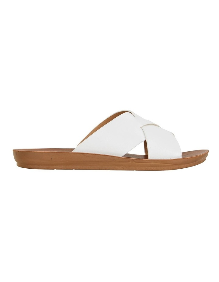 Gizmo White Smooth Sandals image 1