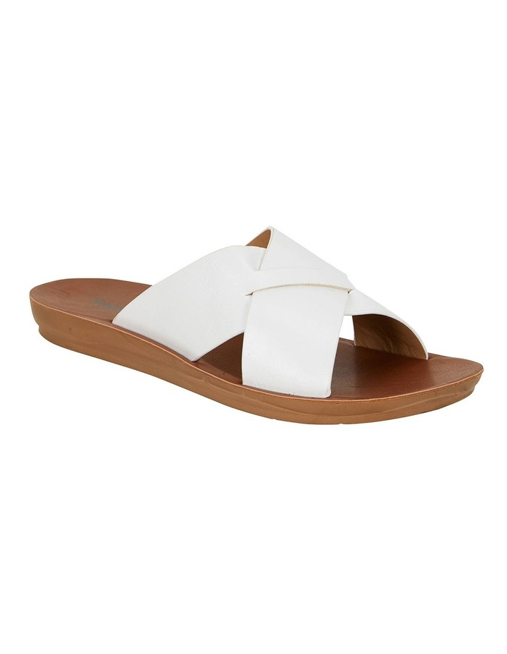 Gizmo White Smooth Sandals image 2