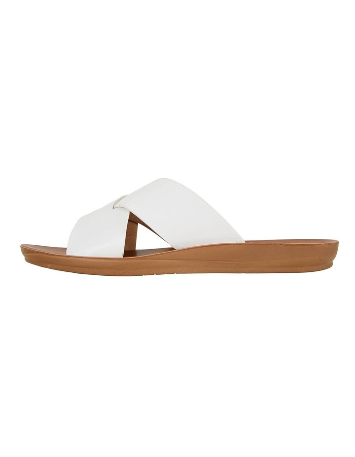 Gizmo White Smooth Sandals image 3