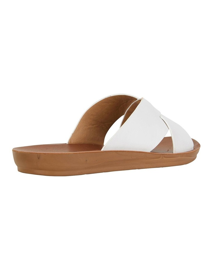 Gizmo White Smooth Sandals image 4