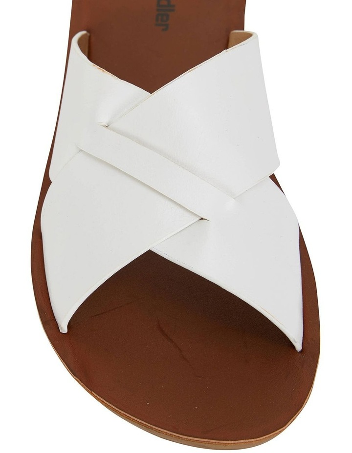 Gizmo White Smooth Sandals image 5
